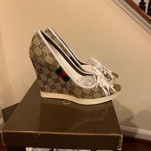 Gucci Wedge Heel